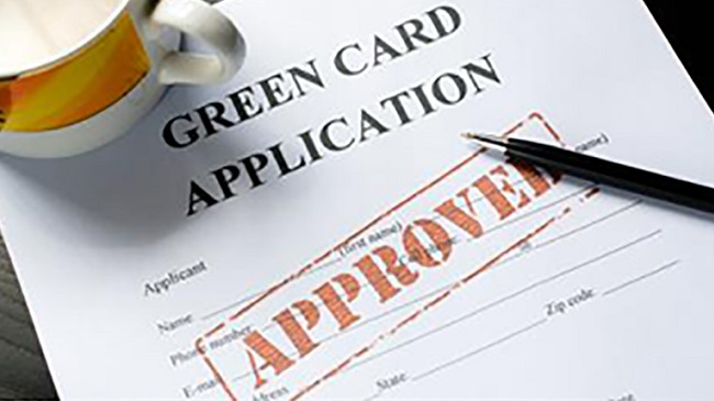 obtention green card