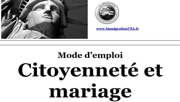 obtenir la citoyenneté américaine via le mariage
