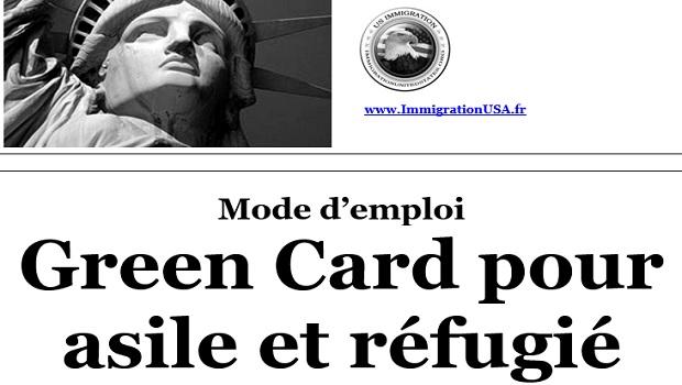 carte verte pour cause d'asile politique et pour les réfugiés