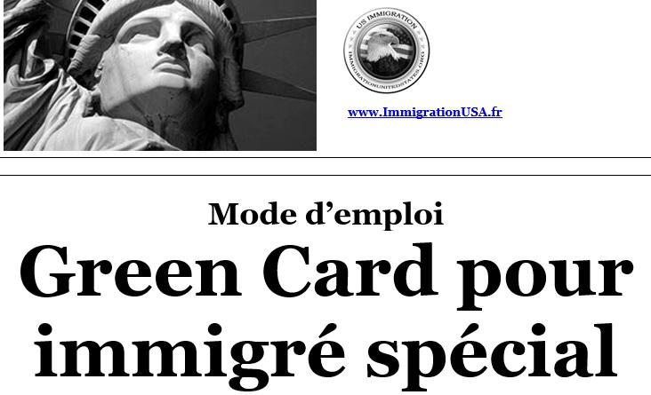 carte verte pour les immigrés spéciaux