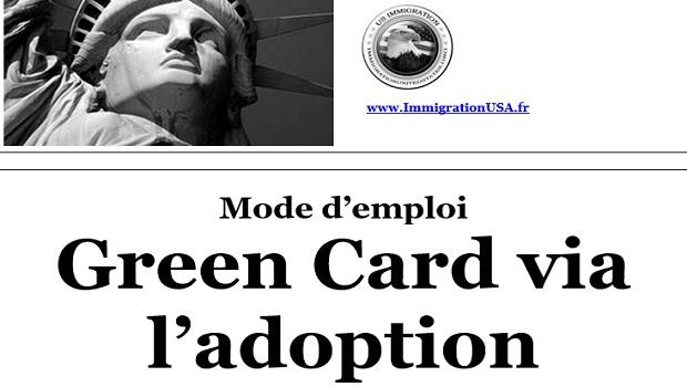 carte verte grâce à l'adoption