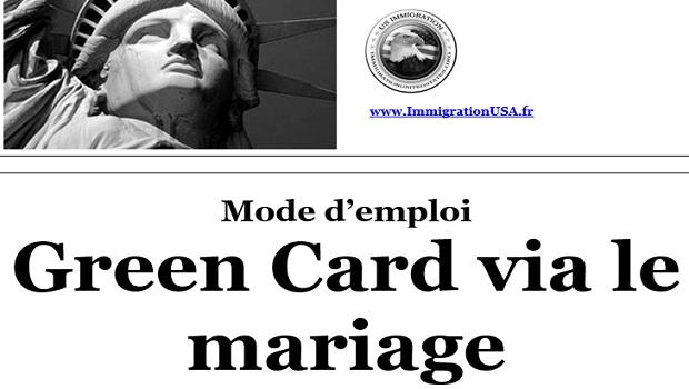 carte verte grâce au mariage