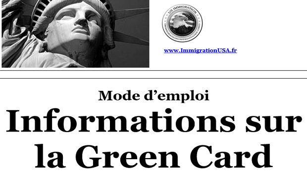infomartions sur la carte verte