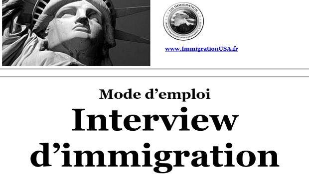 entretien pour obtenir un visa avec un officiel américain
