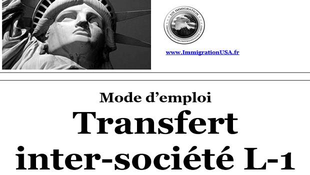 visa l-1 pour les transferts dans une entreprise américaine