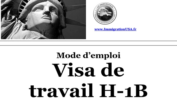 visa h-1b pour travailler aux états-unis