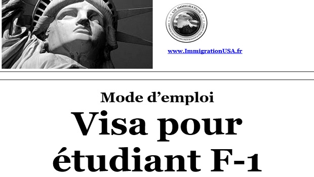 visa f-1 pour étudier aux états-unis