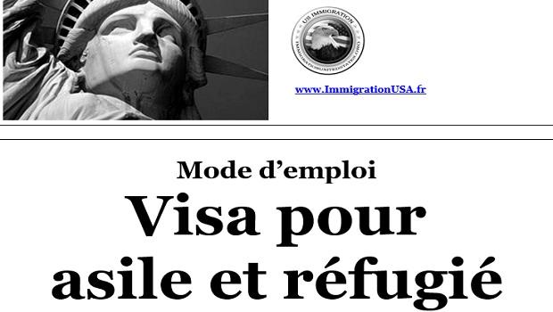 visa pour les demandeurs d'asile politique et les réfugiés
