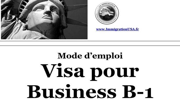 visa pour faire des affaires aux états-unis b-1