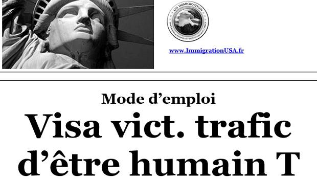 visa T pour les personnes ayant subi du trafic humain