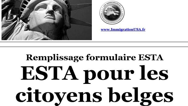 demande esta pour les résidents de Belgique